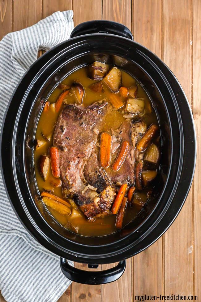 Gluten-free Slow Cooker Pot Roast