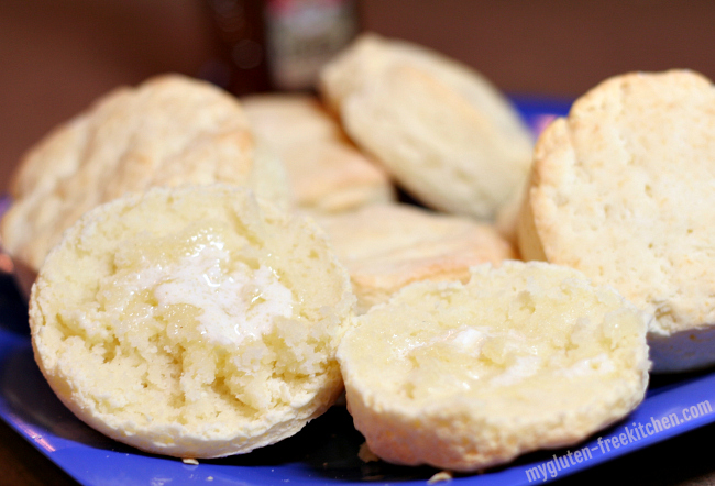 Gluten-free Biscuits with Butter