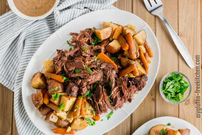 Gluten-free Slow Cooker Pot Roast