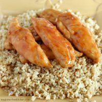 Gluten-free Sweet Chicken recipe.