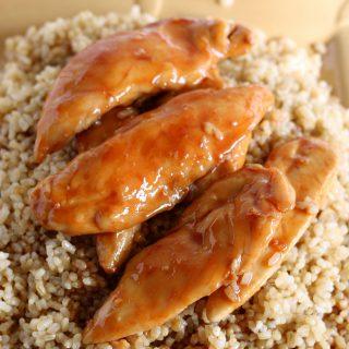 5-Ingredient Sweet Chicken {Gluten-free}