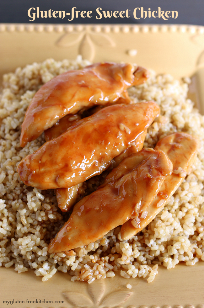 Gluten Free Sweet Chicken With Rice Easy Weeknight Dinner Recipe That The Whole Family