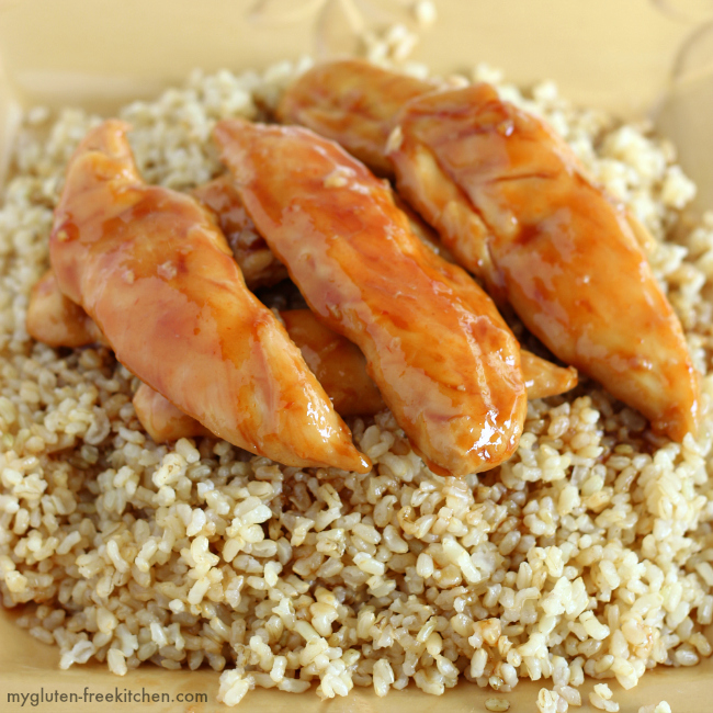 Gluten-free Sweet Chicken recipe.