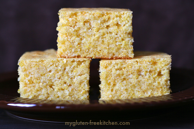 Gluten-free Sweet Cornbread Recipe perfect for potlucks