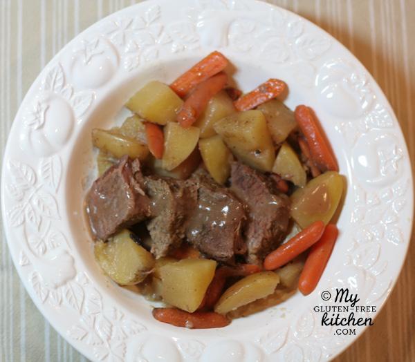 Slow Cooker Pot Roast Gluten-free