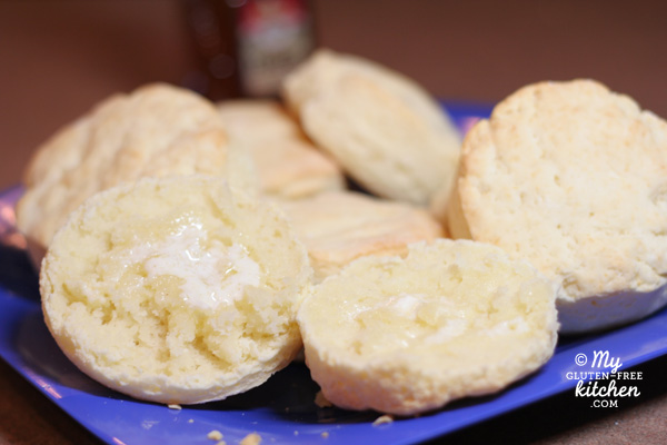 Buttermilk Biscuits {Gluten-free} / My Gluten-free Kitchen