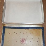 Must have for baking: parchment paper or silicone mats