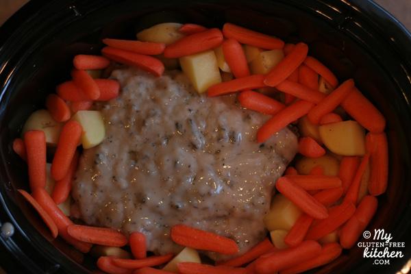 Slow Cooker Pot Roast in crockpot