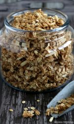 Jar of Gluten-free Granola