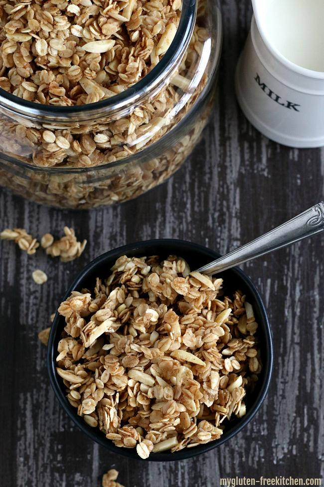Gluten-free Vanilla Almond Granola