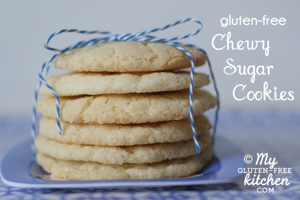 Gluten Free Chewy Sugar Cookies