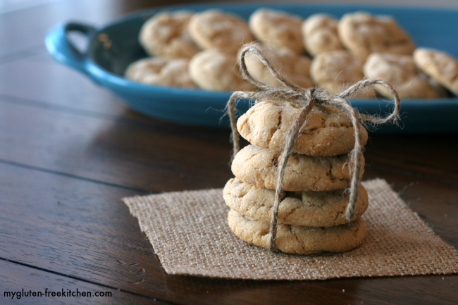 Delicious gluten-free double peanut butter cookies