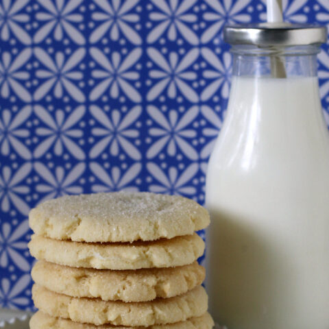 Gluten-free Chewy Sugar Cookies