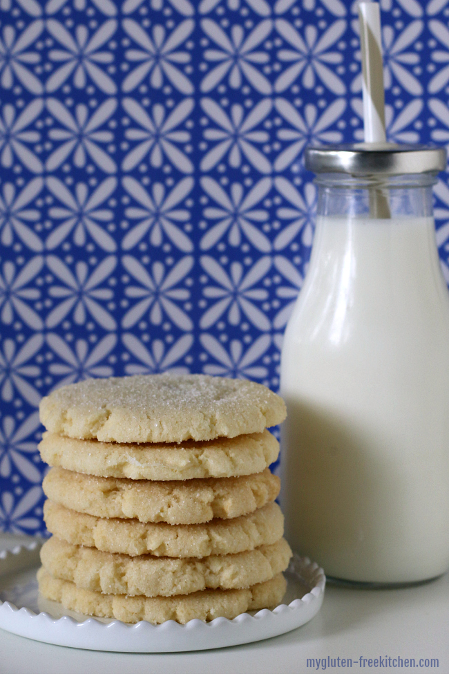 Gluten-free Chewy Sugar Cookies. We enjoy these gluten-free cookies year-round!