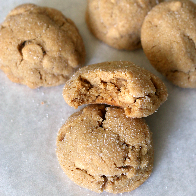Gluten-free Peanut Butter Cookies soft texture