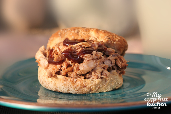 Slow Cooker Pulled Pork ~4 Ingredients and Gluten-free too!