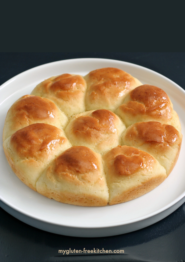 Gluten-free Dinner Rolls recipe. These will remind you of Grandma's rolls at the holidays!