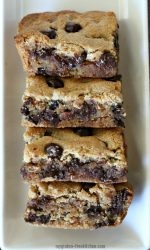 Gluten-free Peanut Butter Brownies. My favorite brownie recipe!