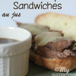 Gluten-free Slow Cooker French Dip Sandwiches