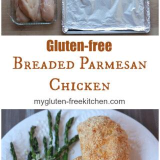 Breaded Parmesan Chicken {Gluten-free}