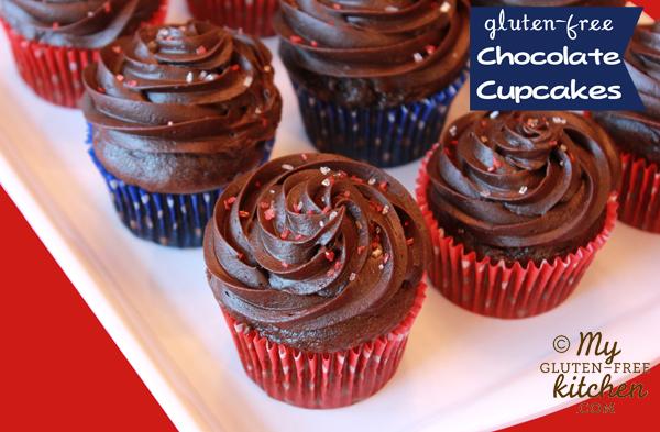 Chocolate Cupcakes {gluten-free}