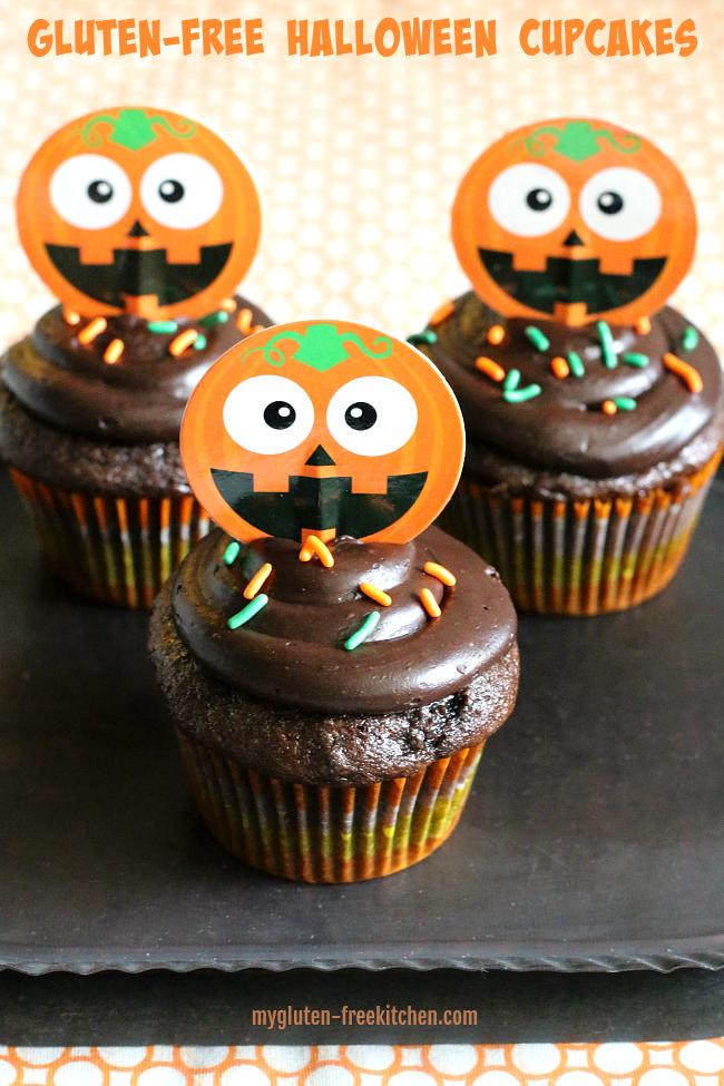 Gluten-free Halloween Cupcakes