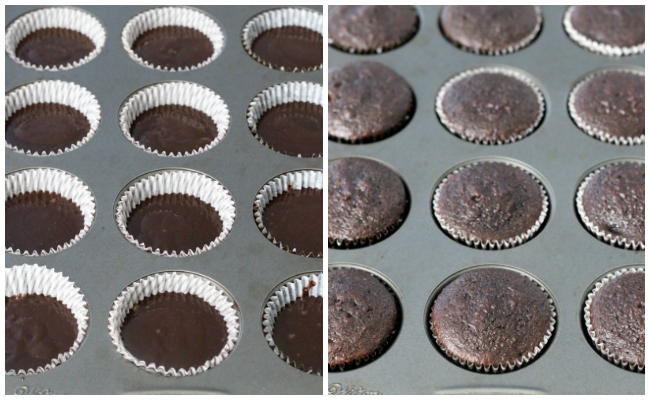 Making gluten-free chocolate cupcakes