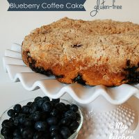 Gluten-free Blueberry Coffee Cake