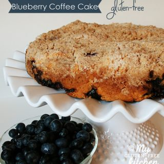 Blueberry Coffee Cake {gluten-free}