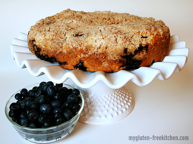 Blueberry Coffee Cake gluten free