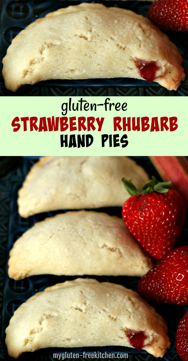 Recipe for Gluten-free Strawberry Rhubarb Hand Pies