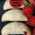 Strawberry Rhubarb Hand Pies {Gluten-free}