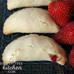 Strawberry Rhubarb Hand Pies {Gluten-free} thumbnail pic