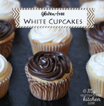 Thumbnail image for White Cupcakes and Review of The Everything Guide to Living Gluten-free