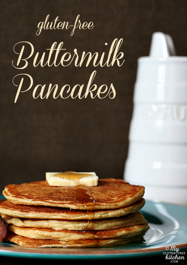 Gluten-free Buttermilk Pancakes - made with almond flour and millet ...