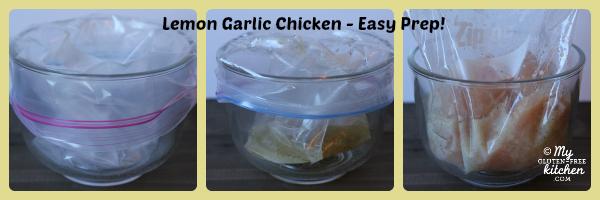 Lemon Garlic Chicken Marinade steps