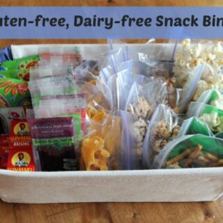Frugal Gluten-free and Dairy-free Snack Bin Ideas