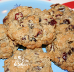 Swirled Chocolate Chip Cranberry Oatmeal Cookies {Gluten-free}