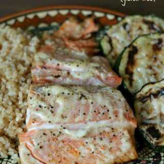 The Best Grilled Salmon {Gluten-free}
