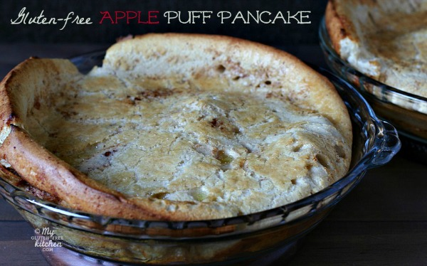 Apple Puff Pancake {Gluten-free}