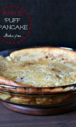 Apple Puff Pancake {Gluten-free}
