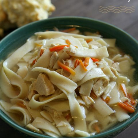 Busy Mom's Crock-Pot Gluten-free Chicken Noodle Soup