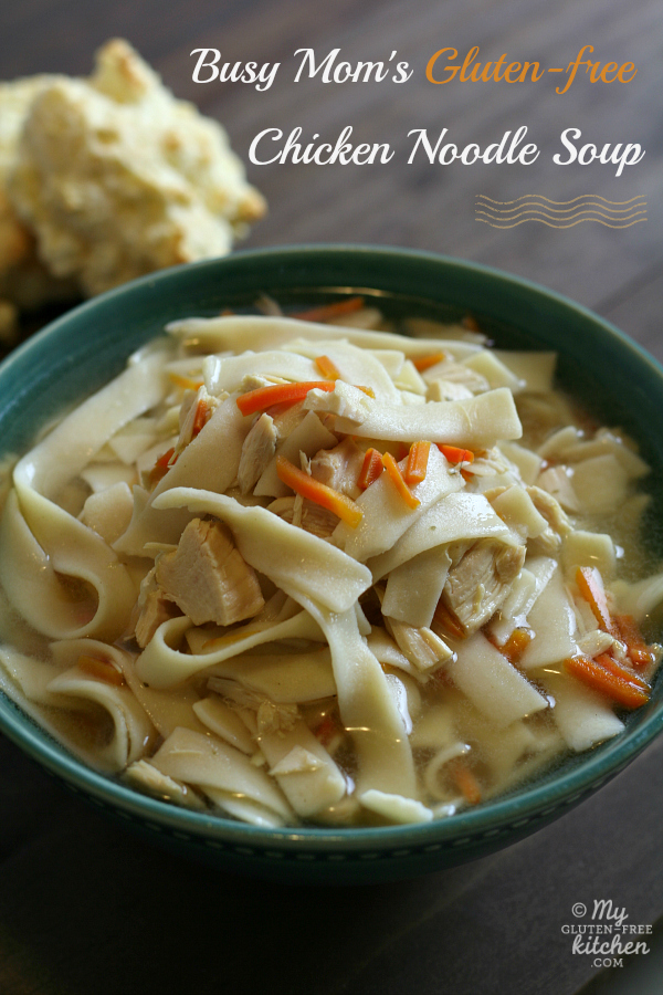 Busy Moms Slow Cooker Chicken Noodle Soup Gluten Free