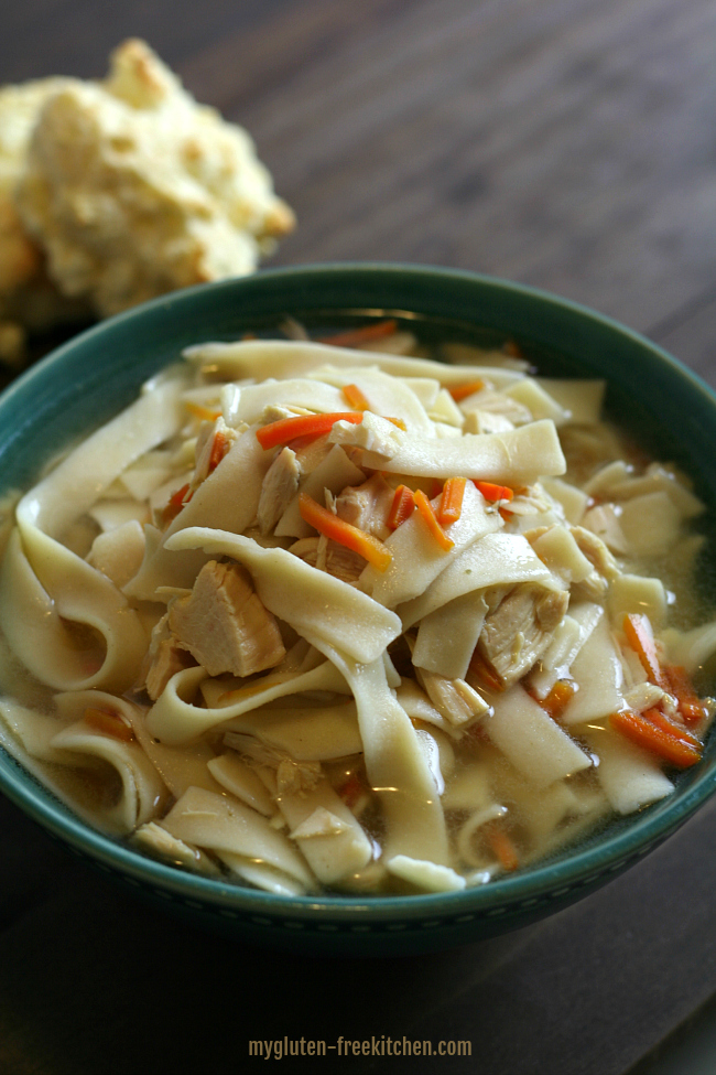 Crockpot Gluten-free Chicken Noodle Soup