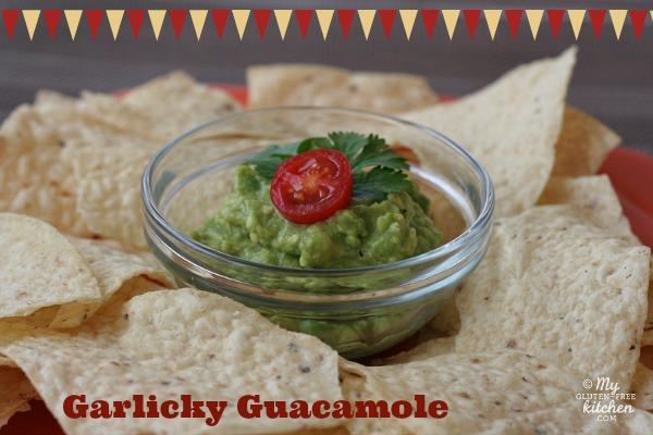 Garlicky Guacamole {Gluten-free}
