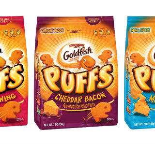 Review: Goldfish Puffs & Giveaway