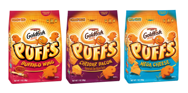 Gluten-free Goldfish Puffs