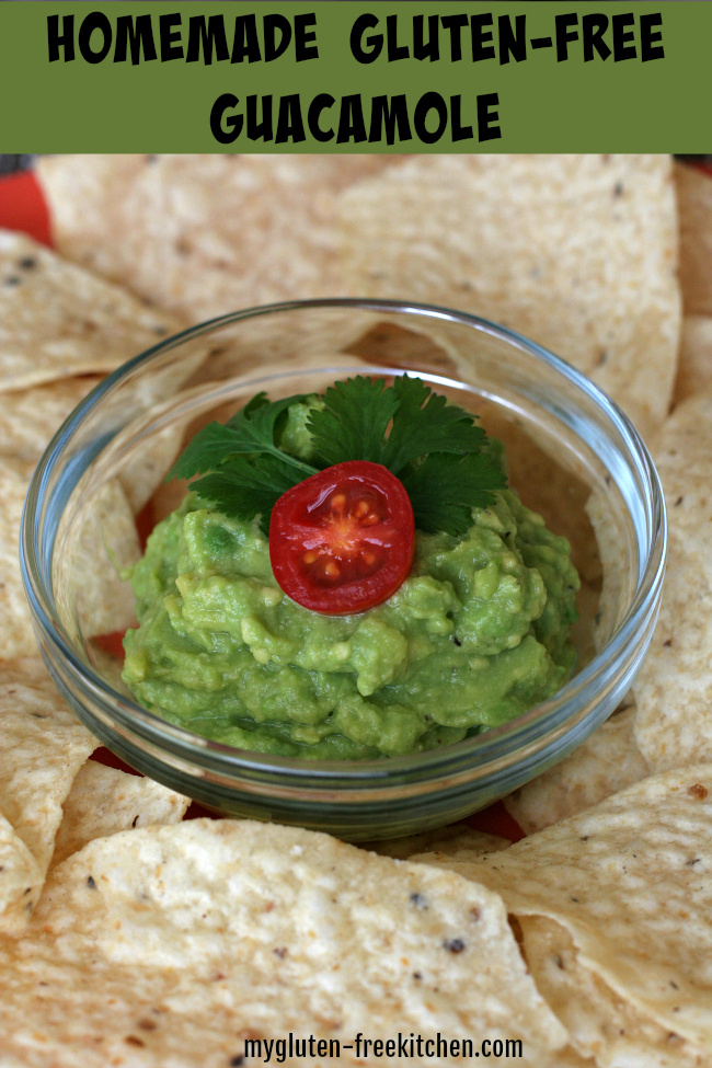 Homemade Gluten Free Guacamole Recipe