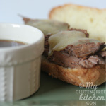 Slow Cooker French Dip Sandwiches {Gluten-free}