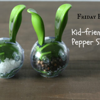 Favorite: Kid-friendly Salt & Pepper Shakers